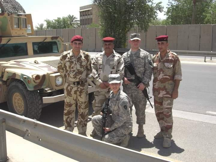 Training in Iraq