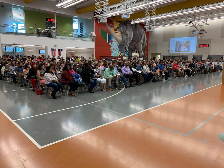 2019 Open House, the number of parents has doubled in size in comparison of the year prior to 2018.