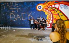 The latest installation of the Astros mural project.