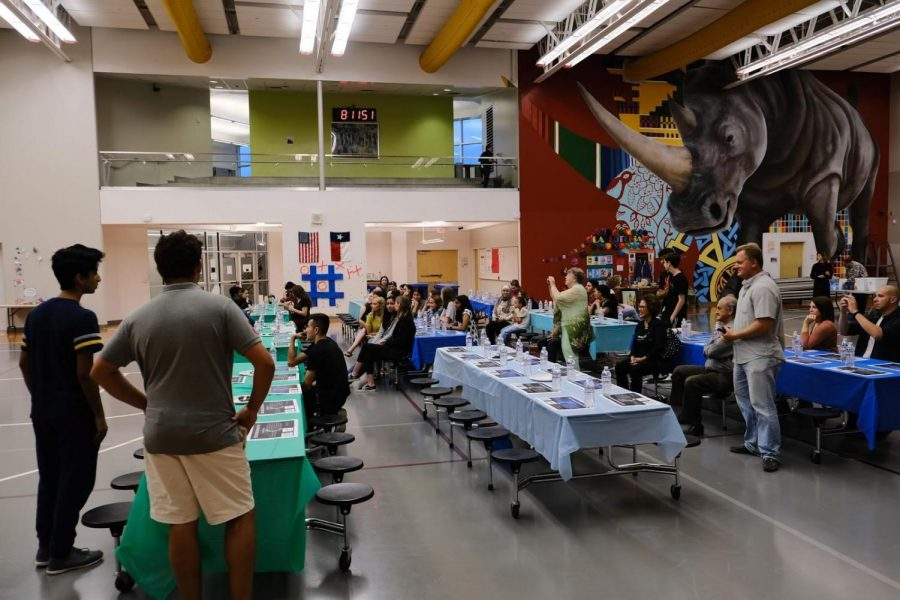 The Islamic Student forearm hosted its first annual Ramadan Iftar dinner last May.