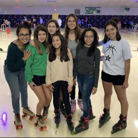 Girls soccer team bonding: Ashley Cabrera , Jacey Chumley , Rebeca Gabrie, Marisol Perez, Carolina Macias, Isamary Fajardo, and Katie Salinas