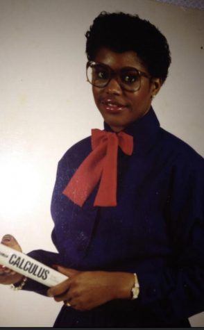 Judy Wells' poses for the Prairie View A&M University yearbook