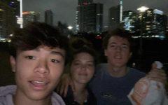 From left, Patrick Nguyen, Lamar Qaddumi(me), Ammer Qaddumi