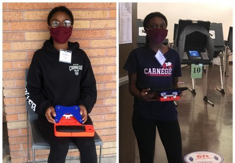 'Work that poll!' Senior Adjoa Asare Recounts Her Experience as a Poll Worker for the 2020 Elections