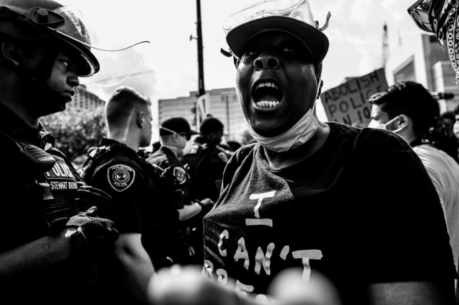 Photographer Humza Hanif captured images at a local Black Lives Matter Protest in the summer of 2020