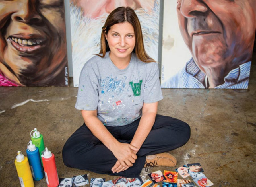 Anat Ronen. Photo Credit - Collin Kelly for the Houstonia.