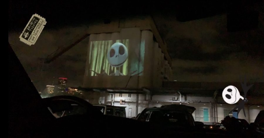 The Nightmare Before Christmas was one of the last movies played before The Drive-In at Sawyer Yards permanently closed due to construction.