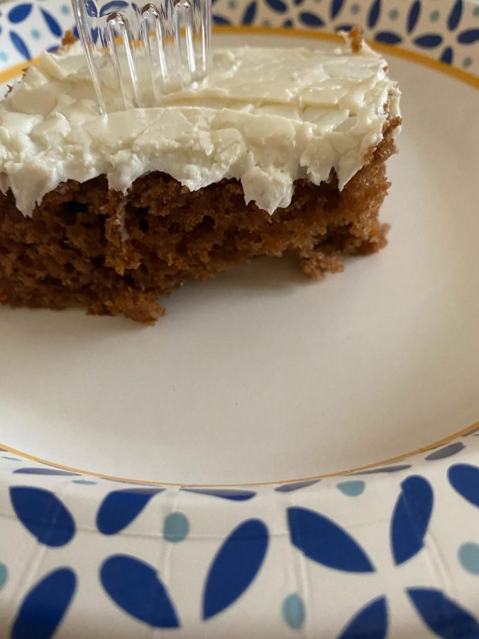 Cameron Hart's Easy Carrot Cake Recipe- Perfect for a cold day at home