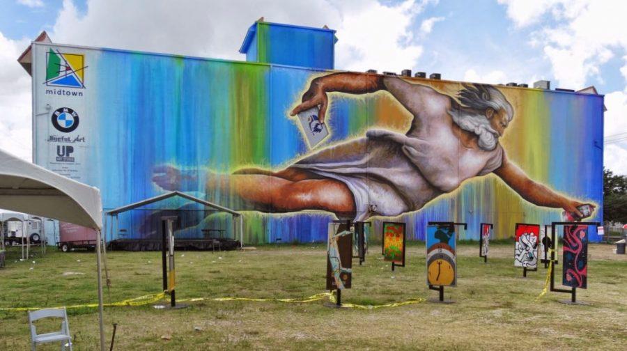 Preservons la Creation. Photo credit - Houston in Pics