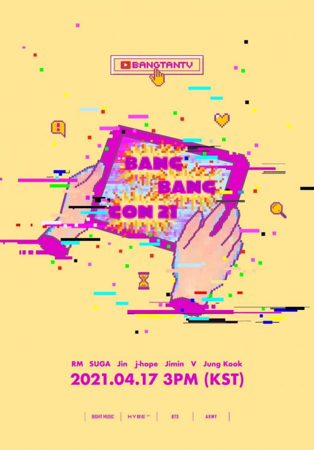 BTS hosted a virtual event called BangBangCon21 on BANGTANTV on April 17th.