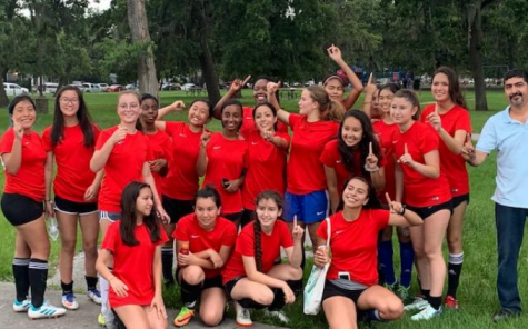 Girls soccer shoot to enter UIL for the next school year