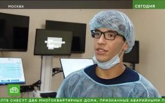 CVHS senior Peter Jackson interning at the Young Surgeons Program at the Pirogov Medical Research Institute in Moscow, Russia.